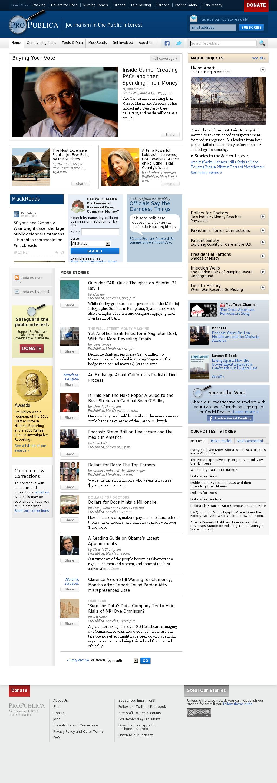 ProPublica at Monday March 18, 2013, 9:18 a.m. UTC