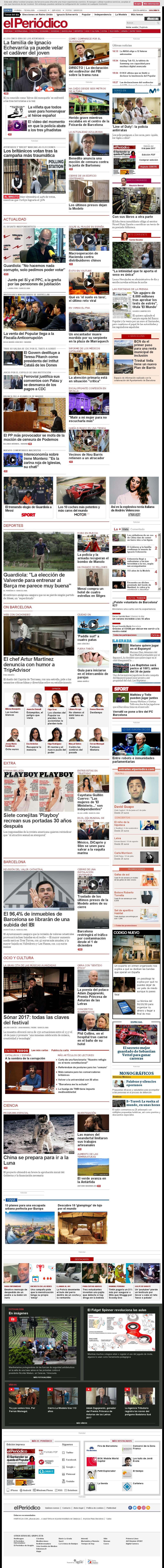 El Periodico at Thursday June 8, 2017, 2:28 p.m. UTC