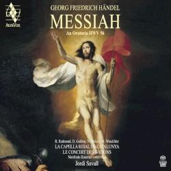 Messiah, HWV 56 by Georg Friedrich Händel ;   R. Redmond ,   D. Guillon ,   N. Mulroy ,   M. Winckhler ,   La Capella Reial de Catalunya ,   Le Concert des Nations ,   Manfredo Kraemer ,   Jordi Savall