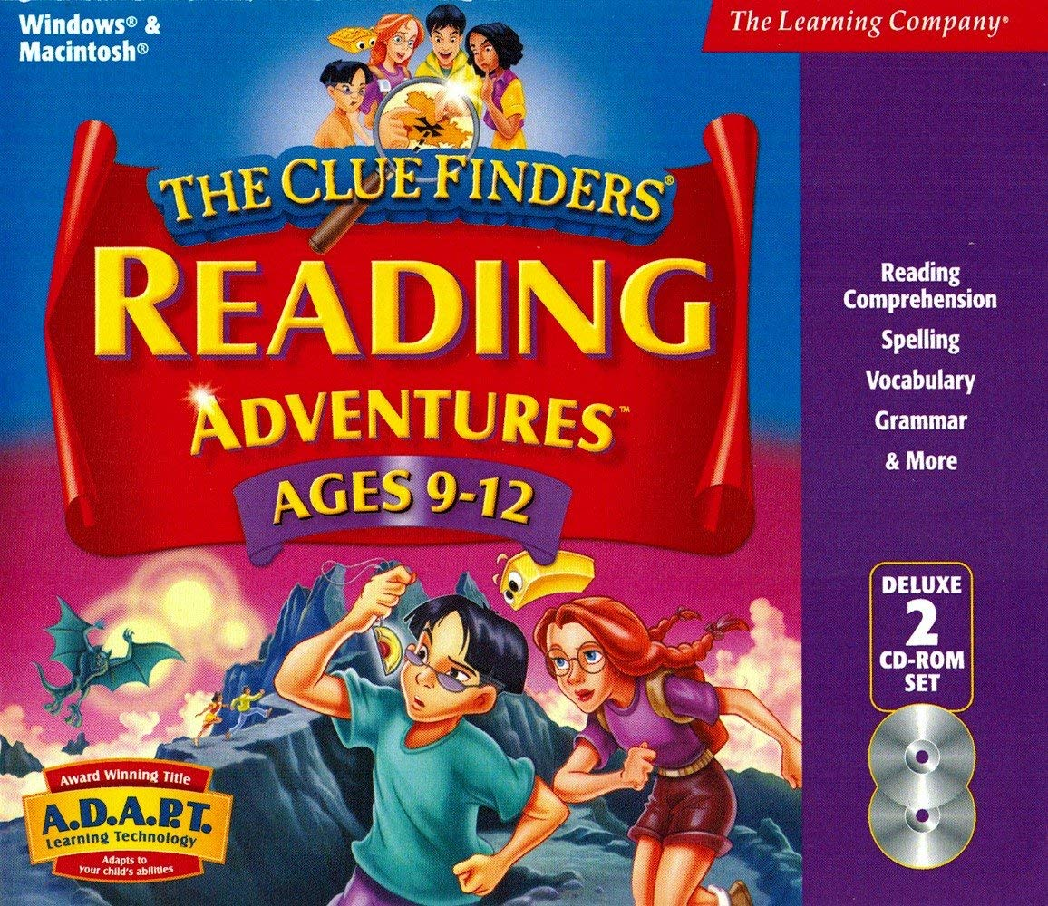 The ClueFinders Reading Adventures: Mystery of the Missing Amulet (1999)