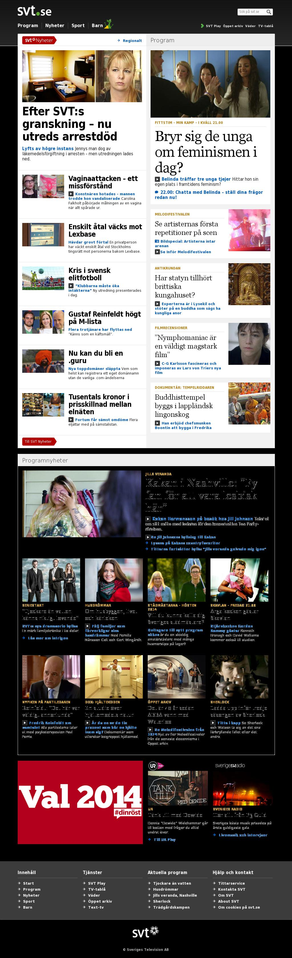 SVT at Thursday Jan. 30, 2014, 7:21 p.m. UTC