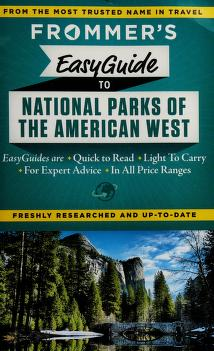 Cover of: Frommer's easyguide to national parks of the American West   Don Laine