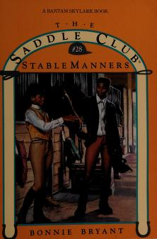 Cover of: Stable Manners | Bonnie Bryant