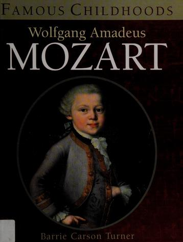 Cover of: Wolfgang Amadeus Mozart   Barrie Carson Turner