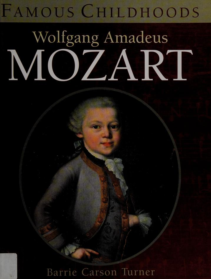 Wolfgang Amadeus Mozart by Barrie Carson Turner