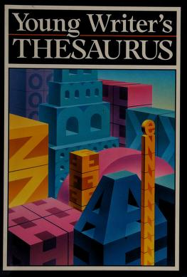 Cover of: Young Writer's Thesaurus/6212 | Merriam-Webster
